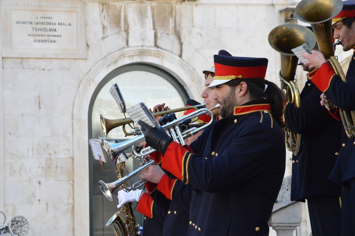Photo of Video & Photo Gallery: Brass Bands Performed on Stradun
