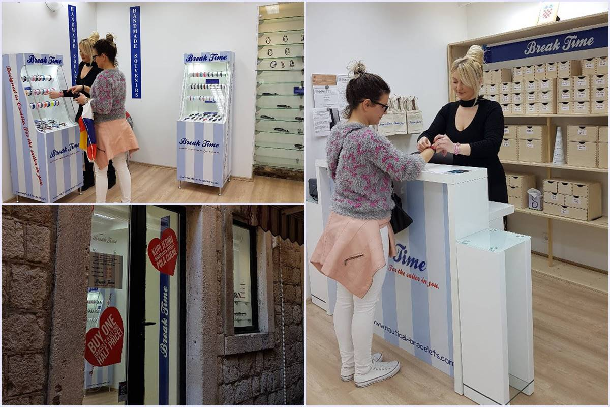 Photo of Croatian Brand Break Time Opens New Store in Dubrovnik!