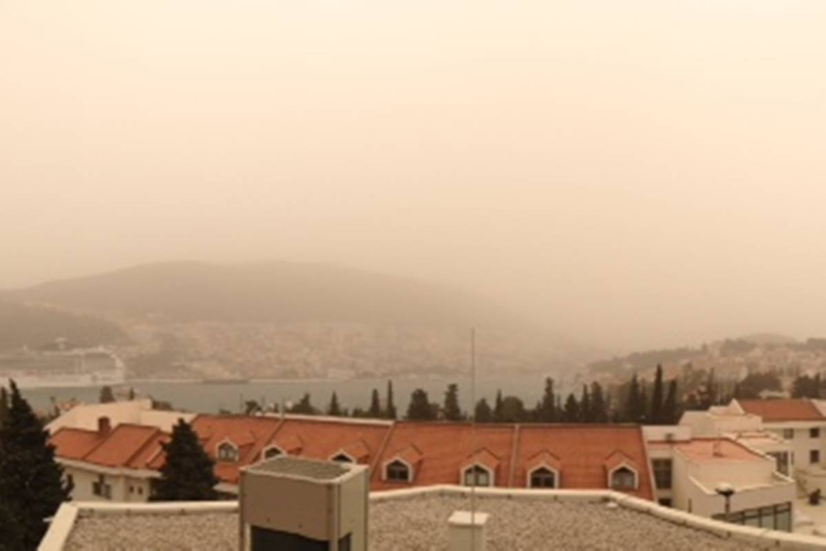 Photo of Video: One Year Ago Sandstorm Completely Covered Dubrovnik