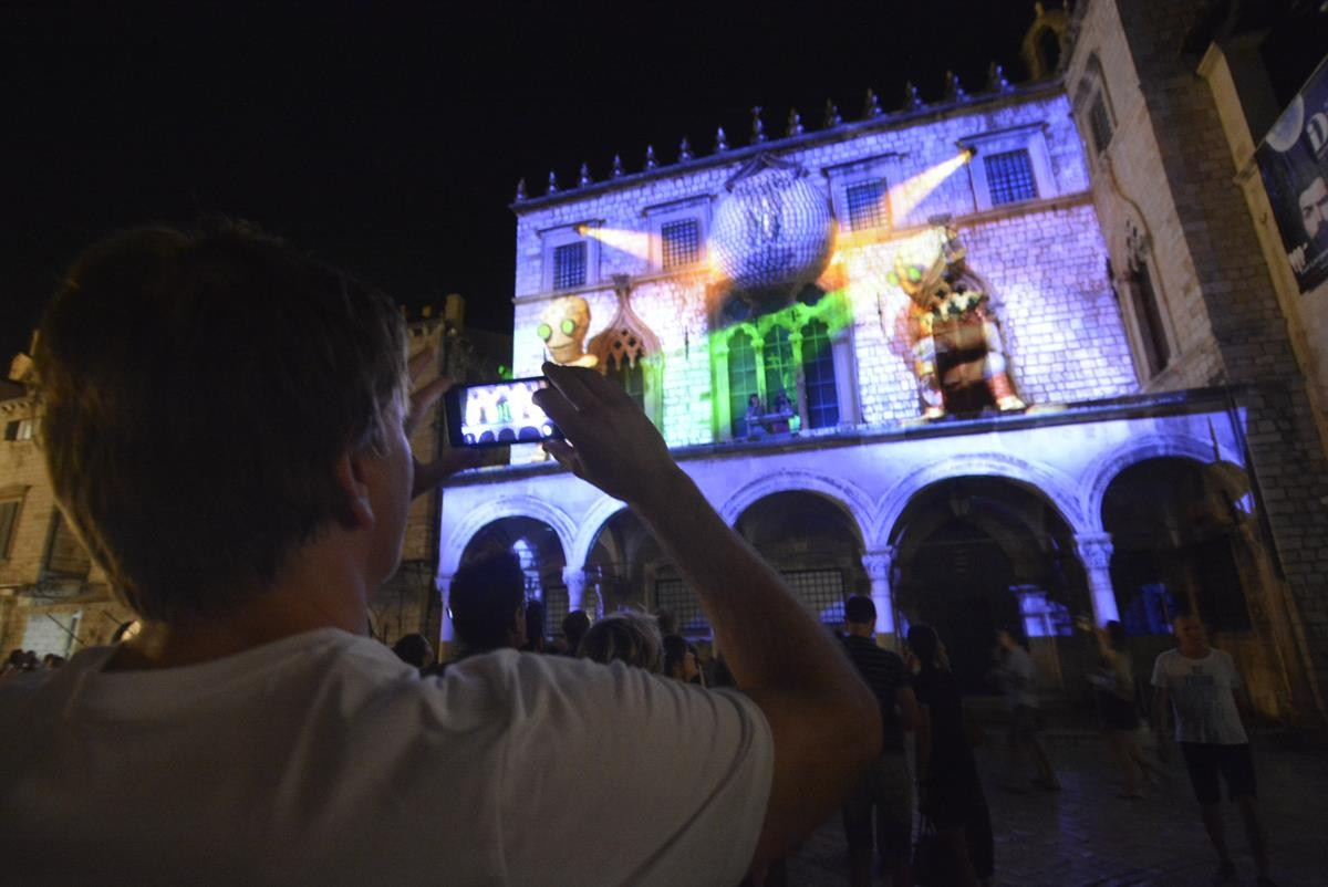 Photo of Video & Photo Gallery: 3D Mapping Turned Dubrovnik Into Spectacular Stage