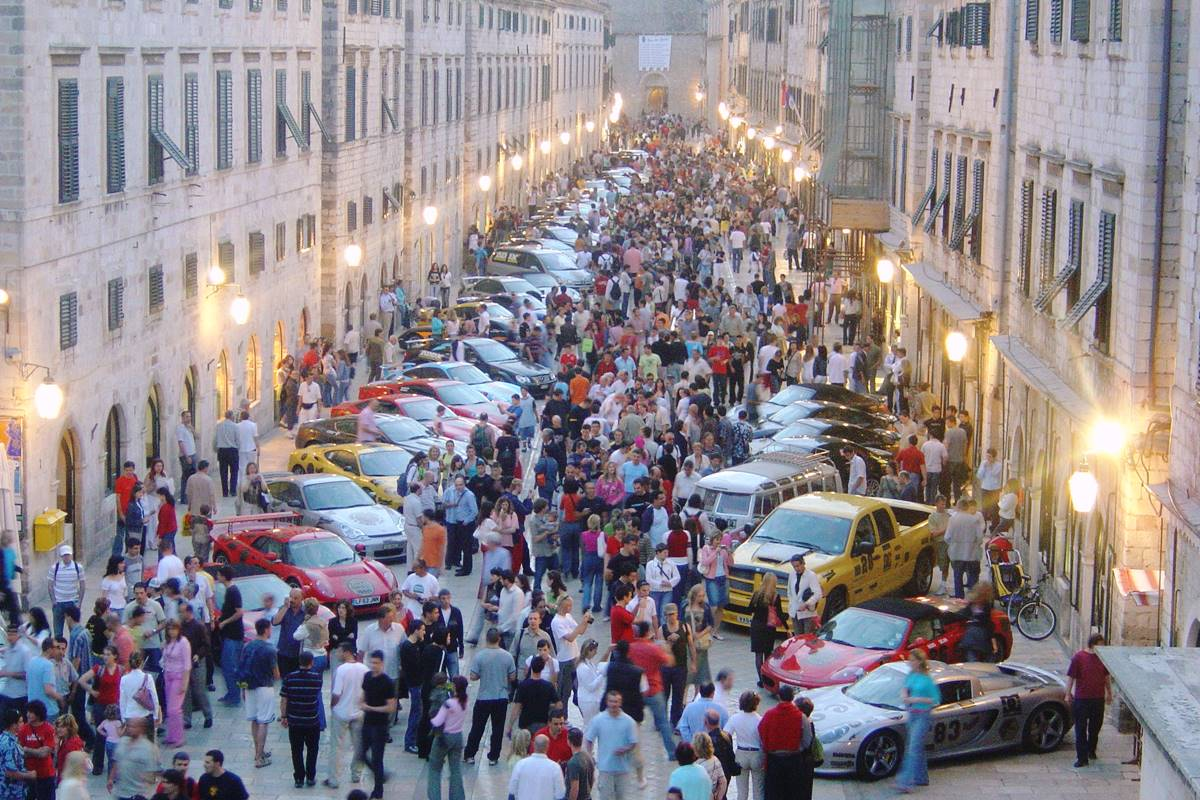Photo of GUMBALL 3000 Superstars and Supercars in Dubrovnik!