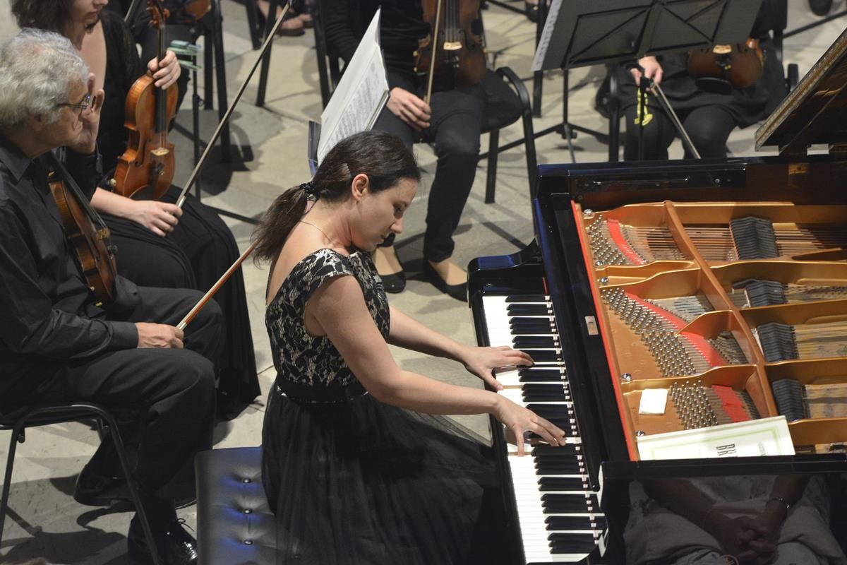 Photo of Famous Pianist Martina Filjak: Every Return to Dubrovnik is Unique