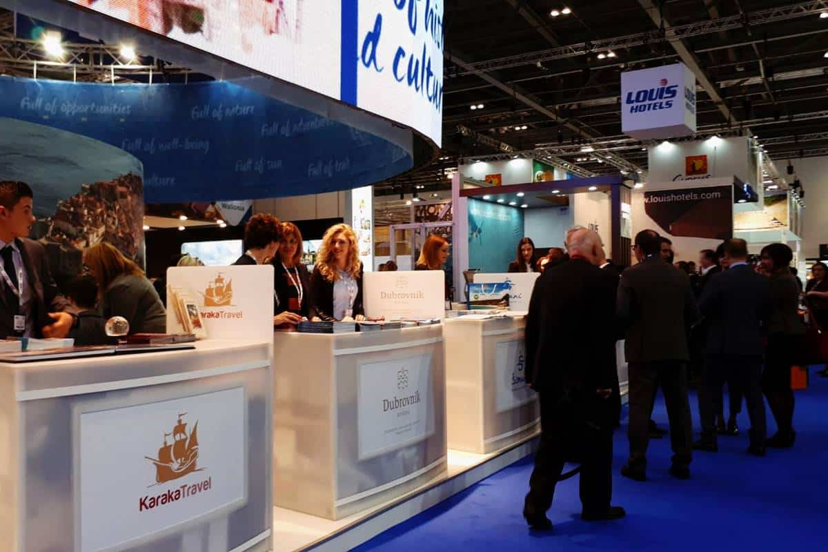 Photo of Dubrovnik and Our County Presented at the World Travel Market in London