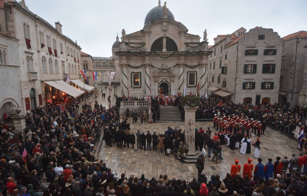 Photo of Video & Photo Gallery: Dubrovnik Welcomes Its Patron Saint