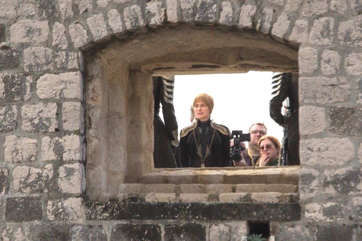 Photo of Captured! Cersei Lannister Filming With Jon Snow in Dubrovnik