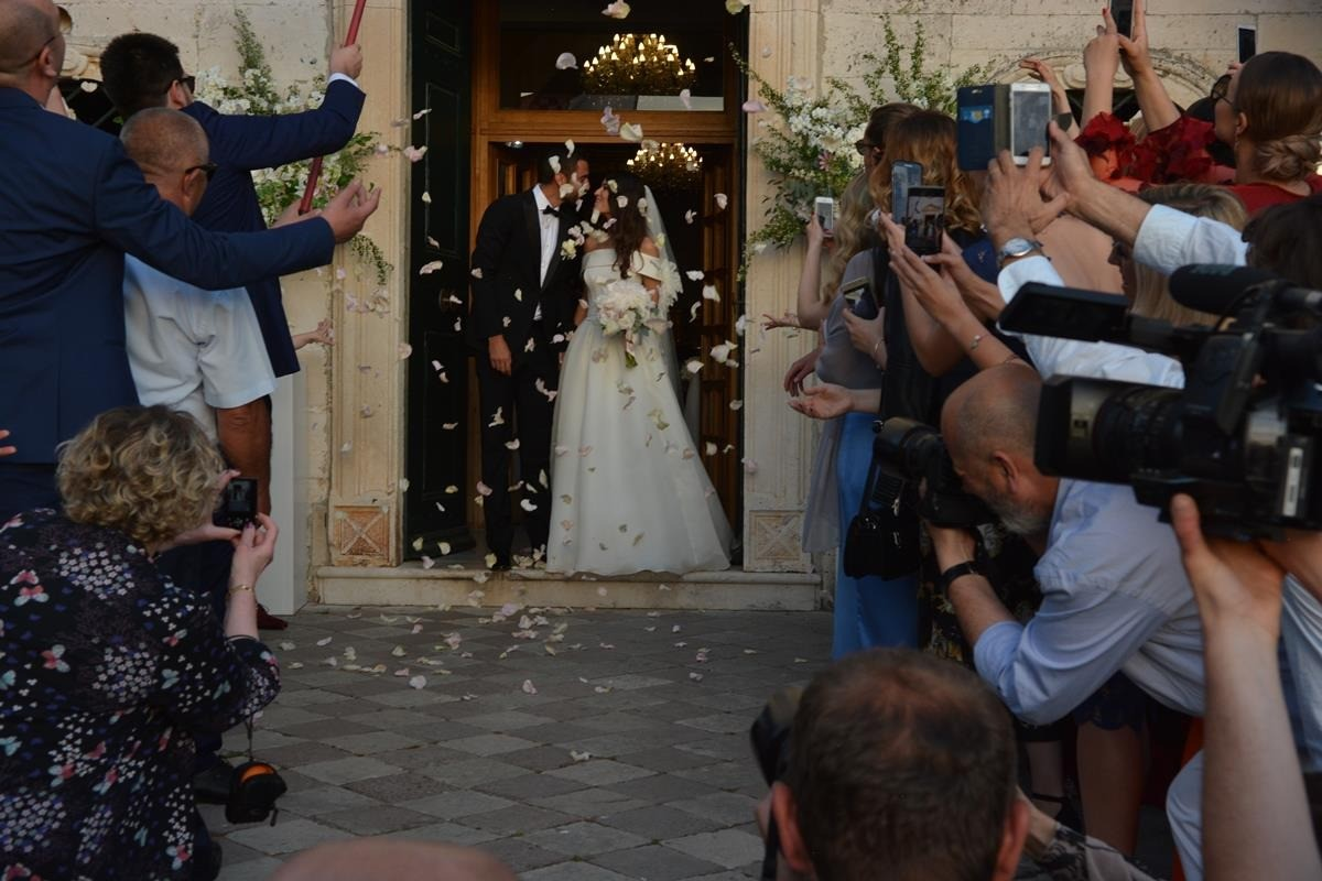 Photo of Photo Gallery: Marin Čilić and Kristina Milković Married in Cavtat, Party Goes On in Revelin