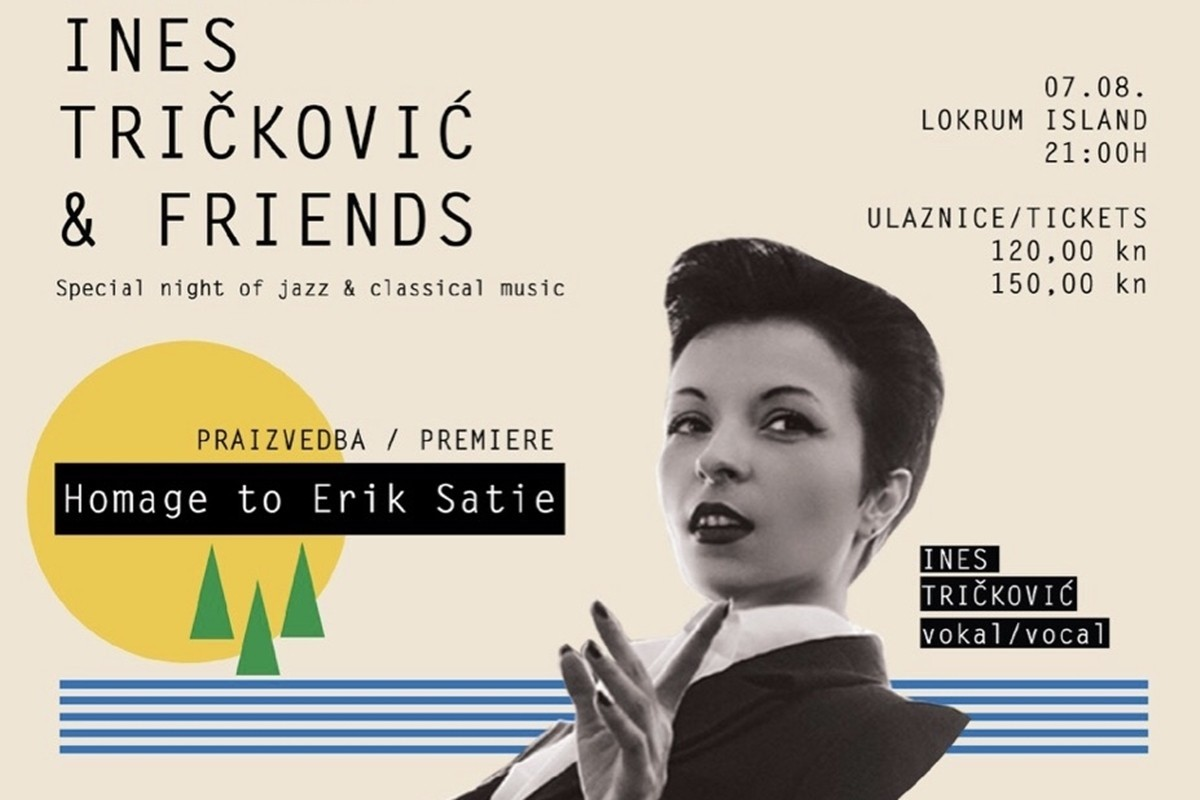 Photo of Exceptional Concert on Lokrum: Ines Tričković Brings Us 'Homage to Erik Satie'