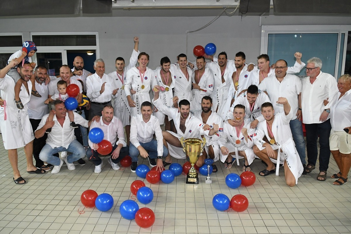 Photo of Jug Overpowers Mladost Winning Its 16th National Championship Title