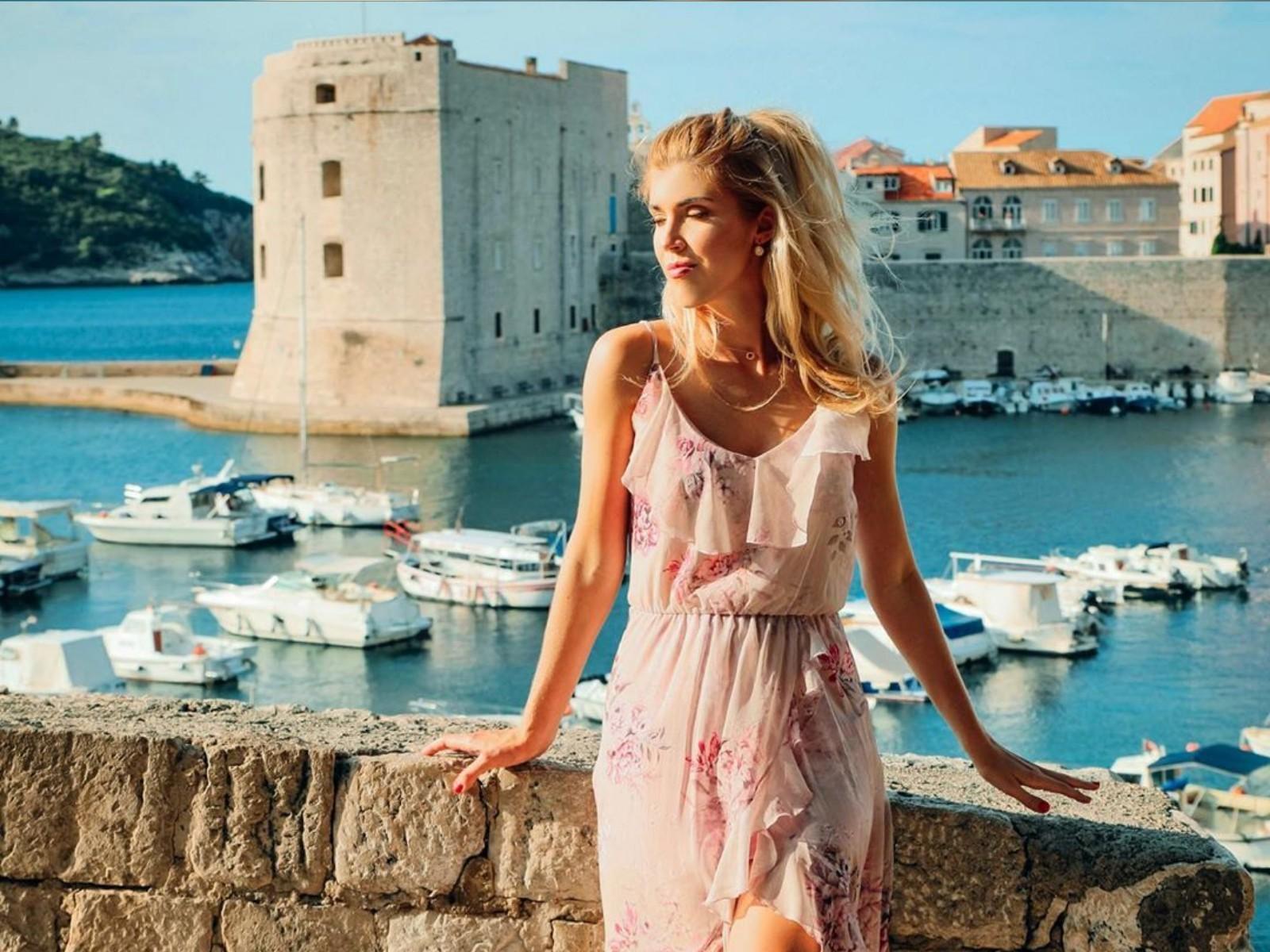 Photo of Polish Enterpriser Sara Rewienska Totally Mesmerized by Dubrovnik