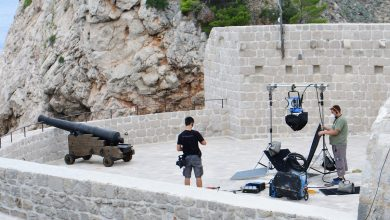 Photo of Filming of The Islander Back in Dubrovnik