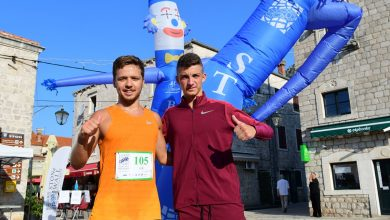 Photo of Ston Wall Marathon: Luka Đurović and Željko Cota First in the Race For a Noble Cause