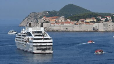 Photo of First Cruiser Arriving to Dubrovnik in January?