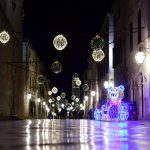 Christmas Decorations in Dubrovnik