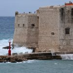 Stormy weather in Dubrovnik
