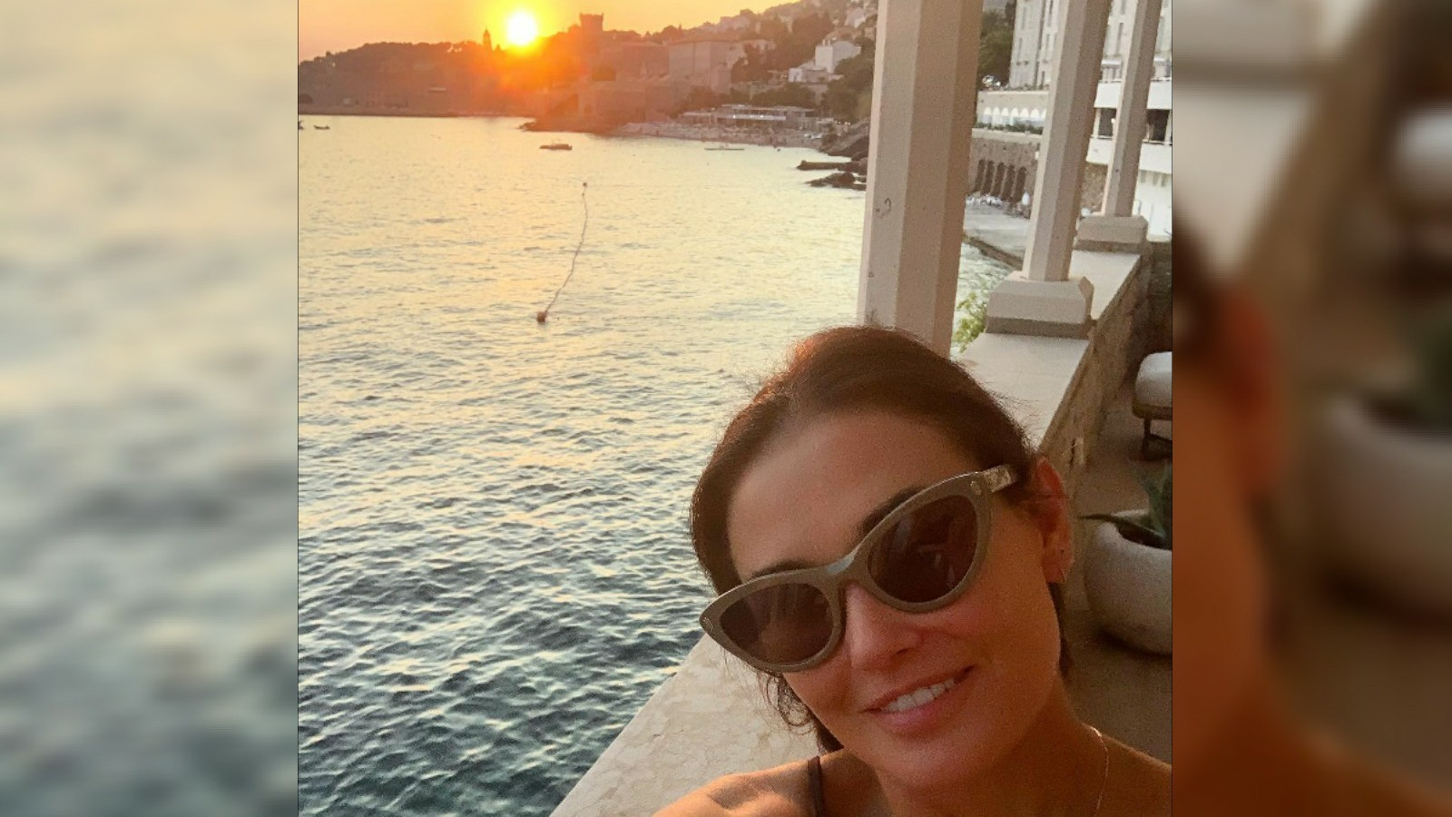 Demi Moore Instagram Dubrovnik